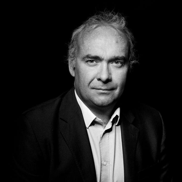 Photographe de portrait d'entreprise Auxerre noir et blanc
