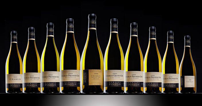 Photo de bouteilles Chablis